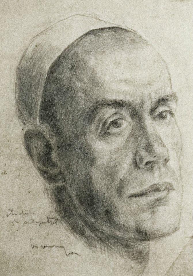Autoportret, Ion Irimescu