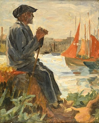 Constantin_Petrescu_Dragoe_breton_in_port