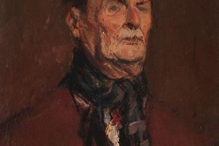 Corneliu_Baba_portretul_lui_Mihai_Sorbul