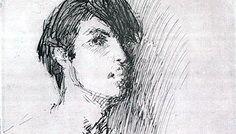 Ghelman Lazar Opica self portrait in paris 1