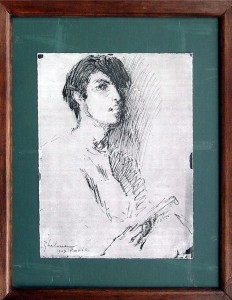 Ghelman Lazar Opica self portrait in paris