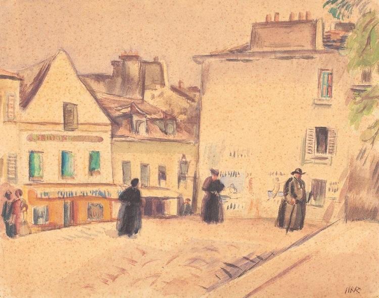 Iosif_Iser_Familie_Montmartre