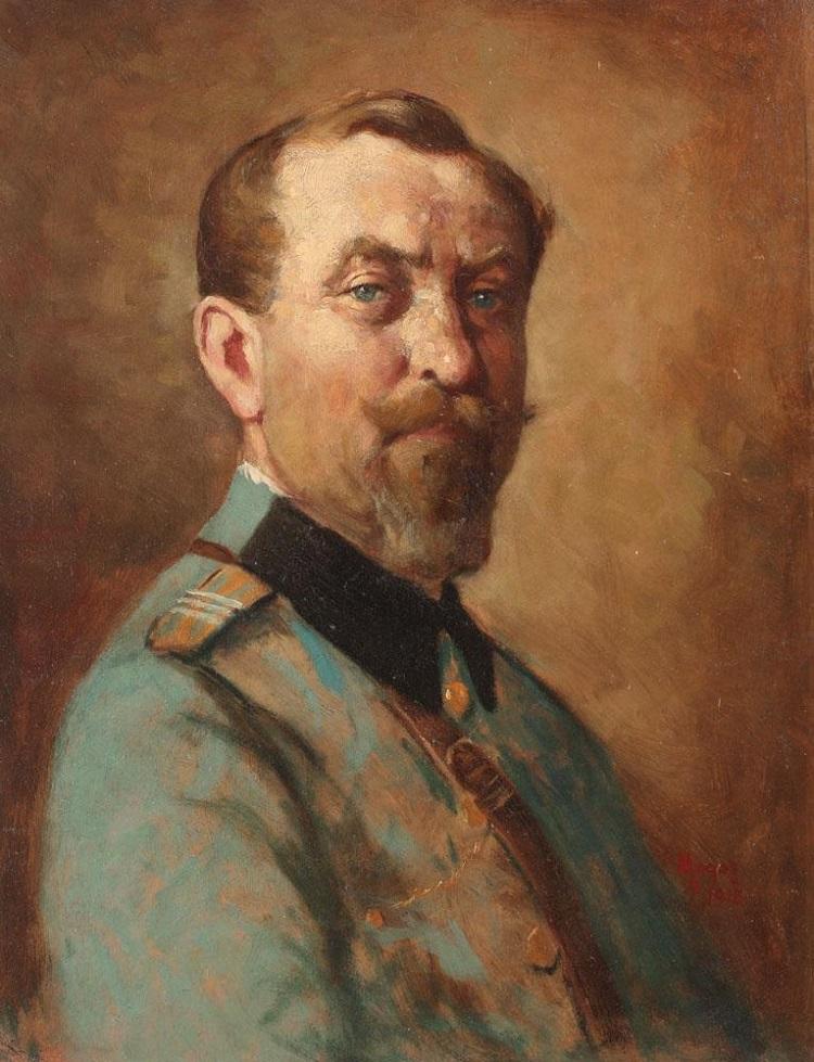 Nicolae_Petrescu_Mogos_Portret_De_Colonel