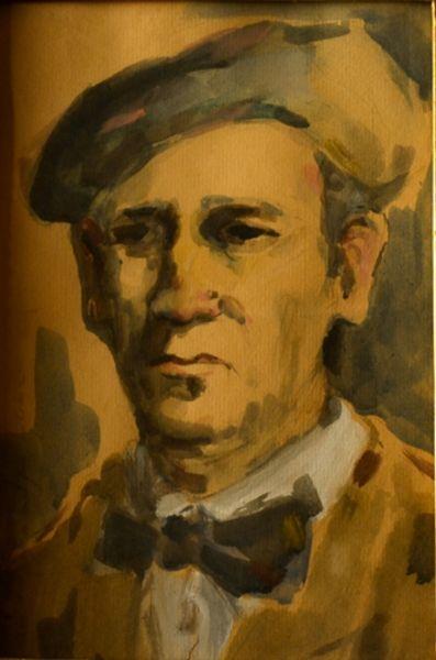 Rudolf_Schweitzer_Cumpana_Autoportret