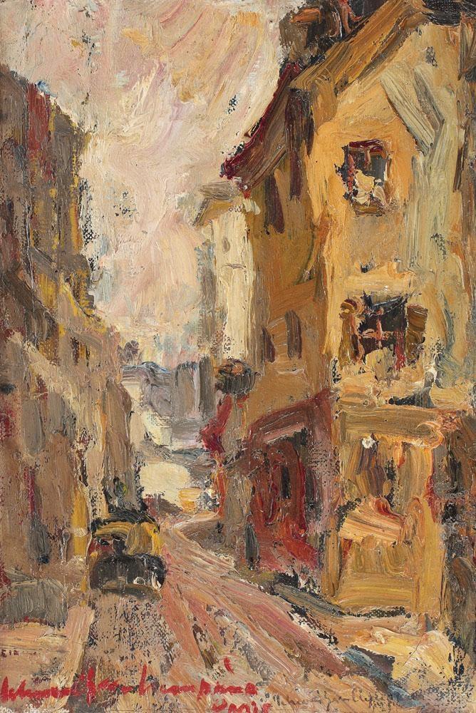 Rudolf_Schweitzer_Cumpana_Strada_Din_Montmartre