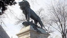 Spiridon_Georgescu_Leul_Monumentul_Eroilor_din_Arma_Geniului1