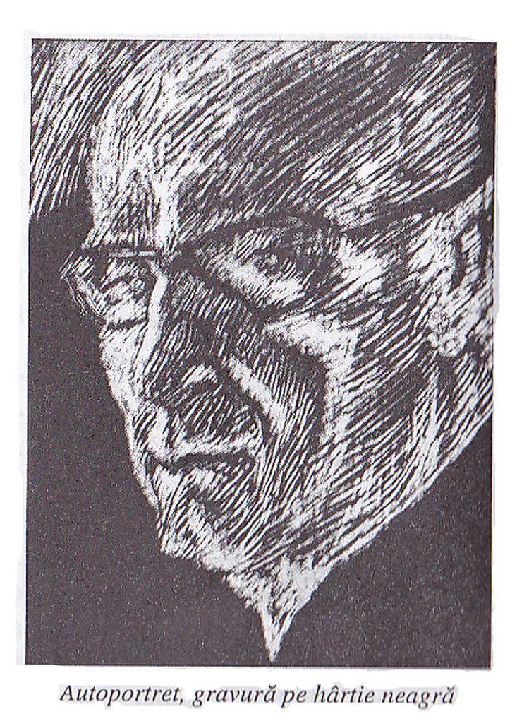 Vely autoportret gravura