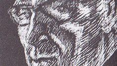 Vely autoportret gravurab
