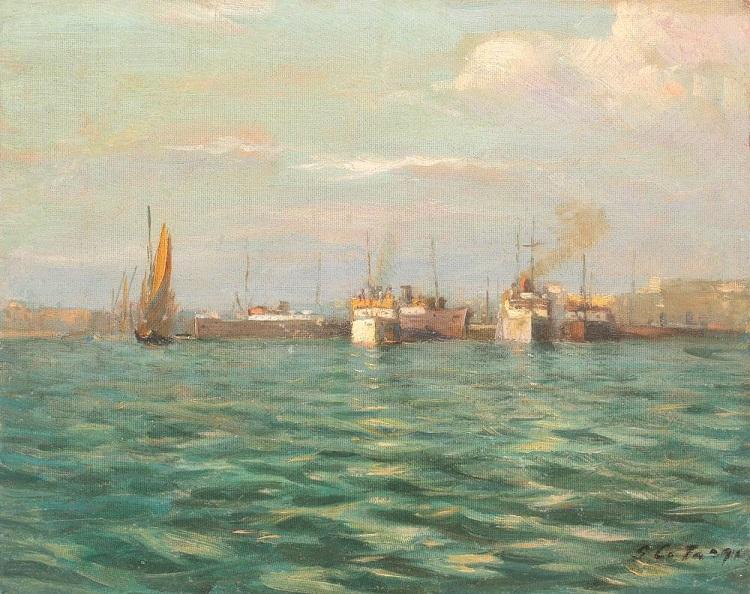 george_catargi_in_port