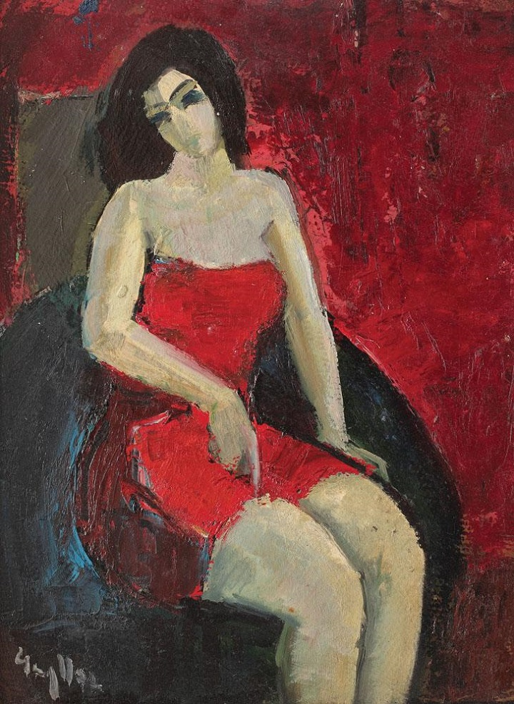 gheorghe_vanatoru_the_woman_in_red_dress