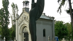 iosif_fekete_monument_funerar_Dumitru_Hubert_Cimitiru_bellu_bucuresti
