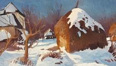 janos_gruzda_peisaj_de_iarna