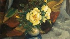 micea_dumitrescu_natura_statica_cu_scoarta_si-trandafiri