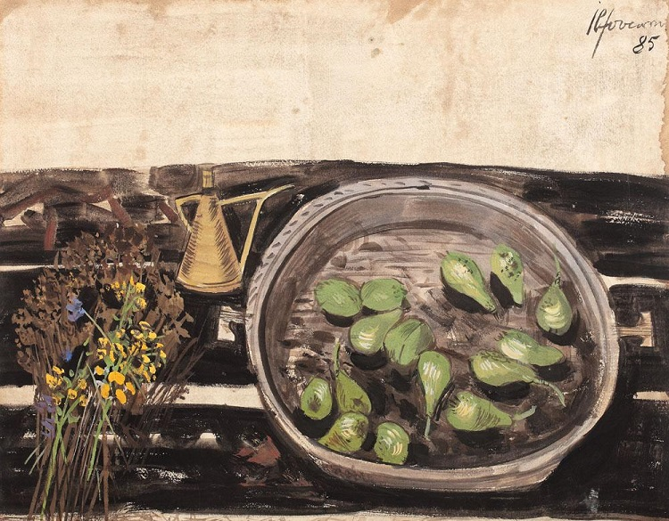 sorin_ilfoveanu_still_life_with_green_pears