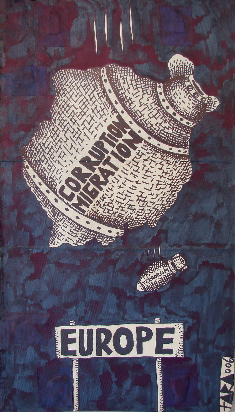 Tara - Corruption Migration, 47 x 27 cm, 2007