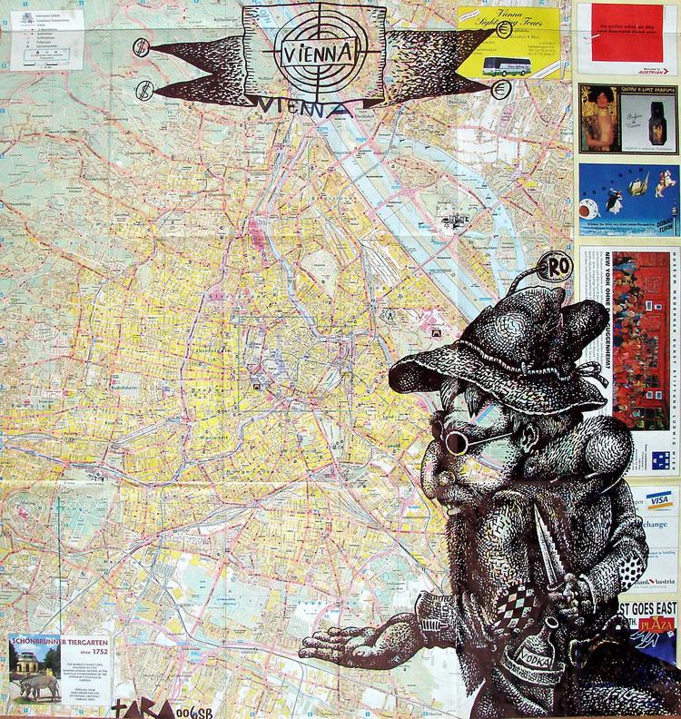 Tara - Vienna 2006, desen, 63 x 60 cm, 2006