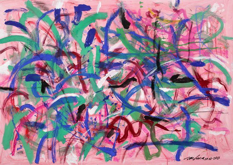 1927. HENRY MANCINI (140 x 100 cm_ acrilic pe panza_ Breaza_ 2013)