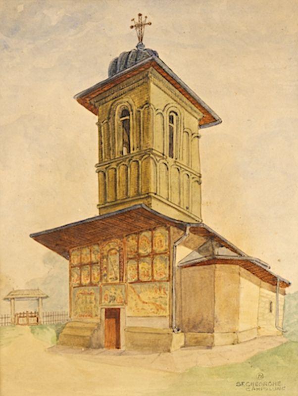 Anton_Kaindl_Biserica_Sf_Gheorghe_Din_Campulung