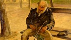 Gheorghe_Balauta_Batran_In_Parc