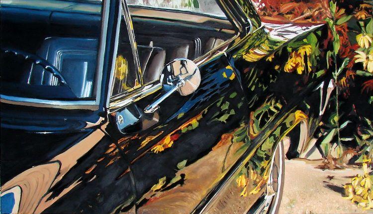 Mihai Florea. Blooming. San Francisco. 1969, ulei pe panza, 70x 120cm, 2011