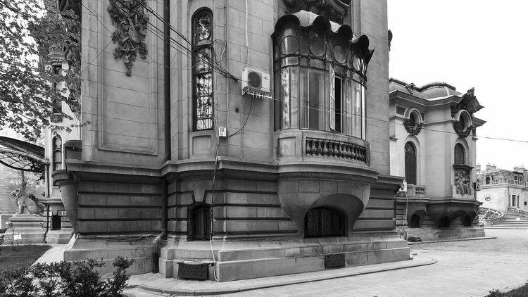 Palatul Cantacuzino - muzeul G. Enescu - exterior (10)
