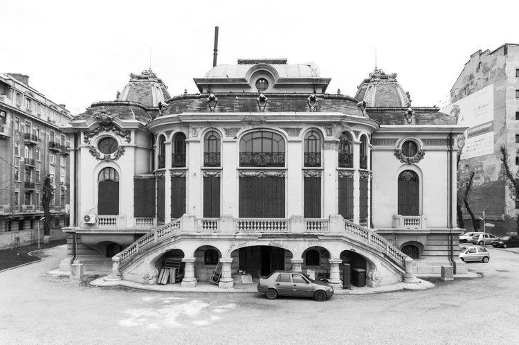 Palatul Cantacuzino - muzeul G. Enescu - exterior (11)
