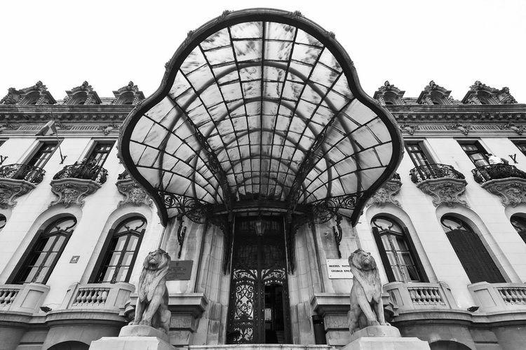 Palatul Cantacuzino - muzeul G. Enescu - exterior (4)