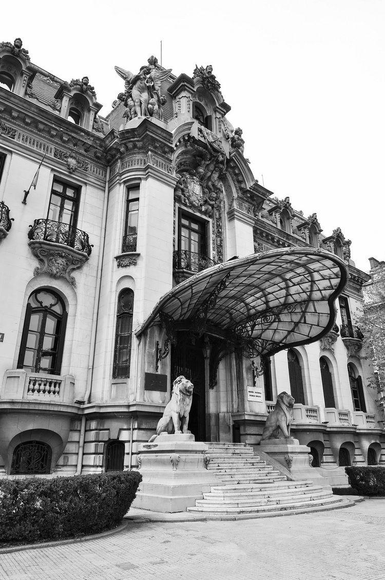 Palatul Cantacuzino - muzeul G. Enescu - exterior (9)