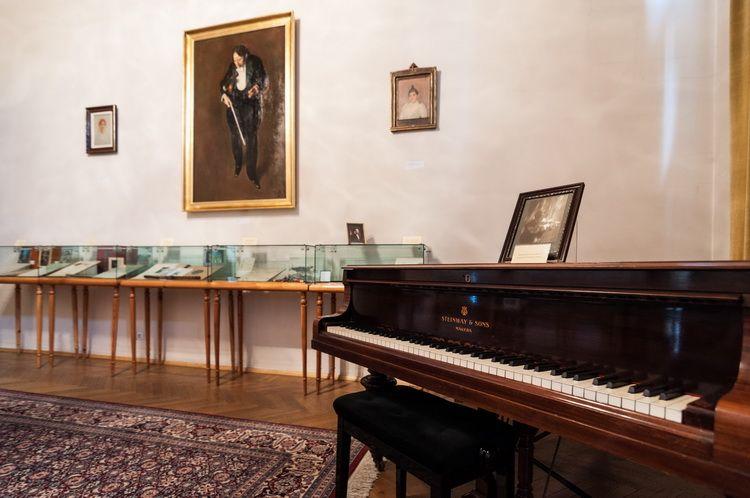 Palatul Cantacuzino - muzeul G. Enescu interior (1)