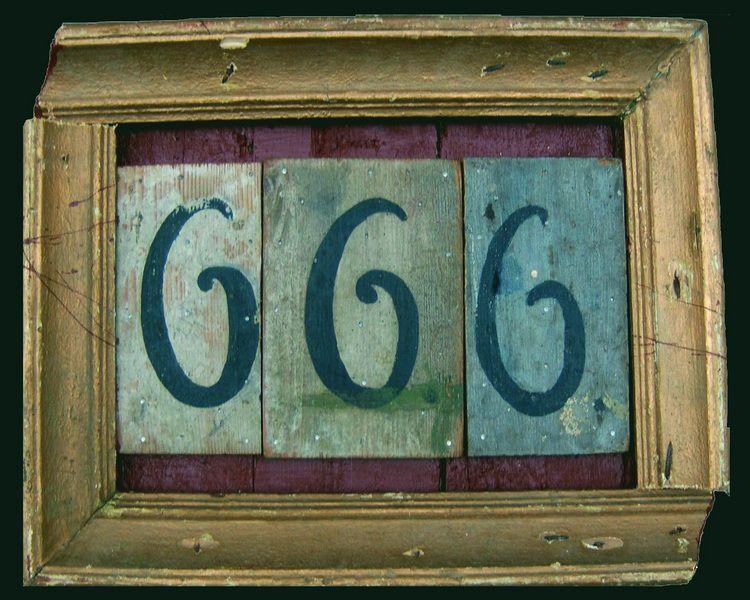 Tara, 666, Mischtechnik, 34x45, 2008