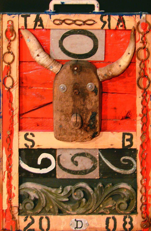 Tara, Devil, Mischtechnik, 70.5 x 49.5 cm, 2008