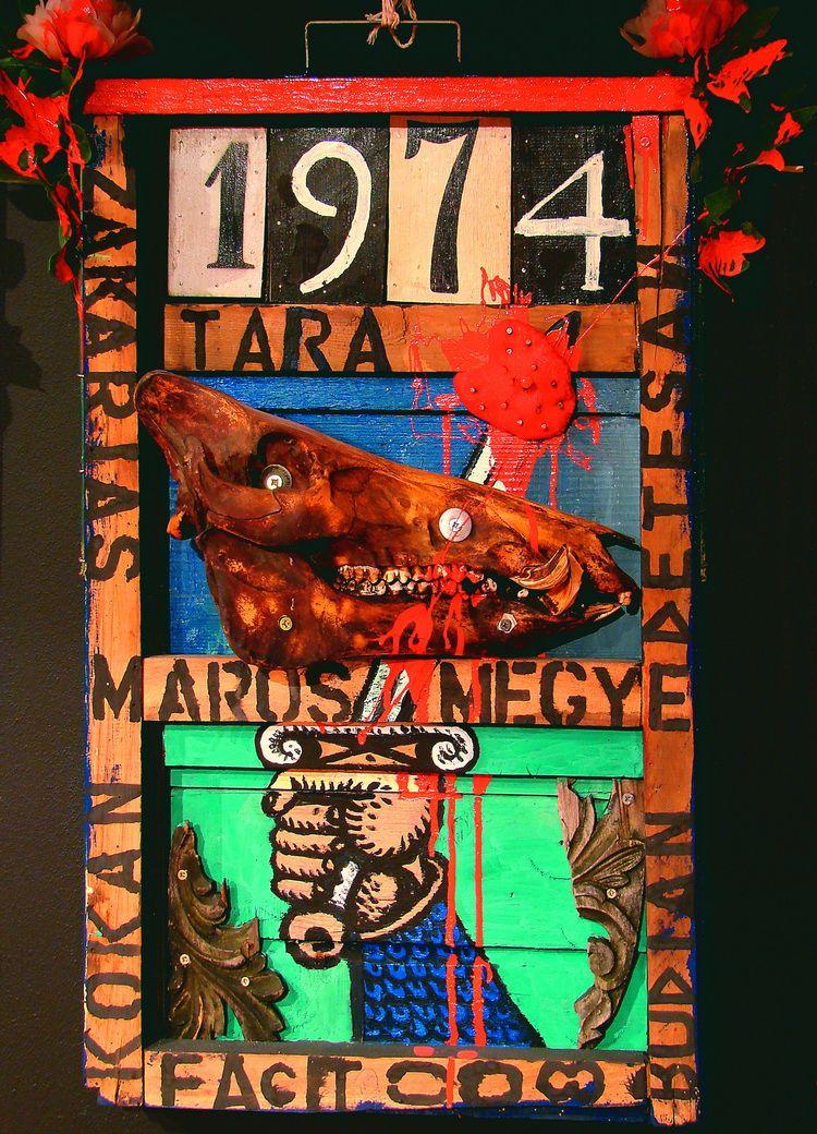 Tara, Neumarkt, Mischtechnik, 70.5 x 49.5 cm, 2008