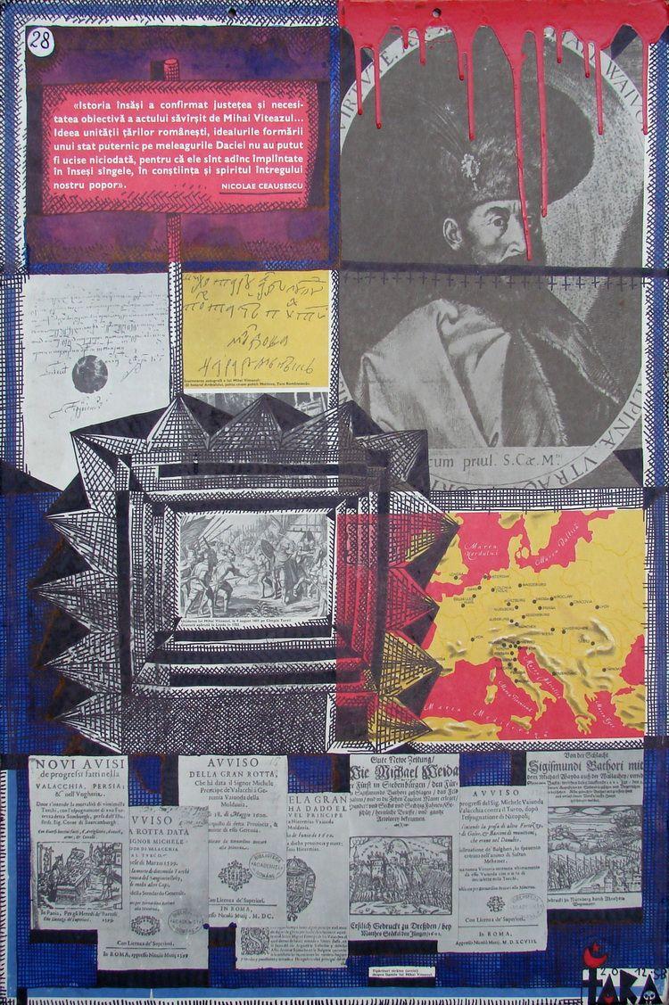 Tara (von Neudorf) - Istoria insasi a confirmat...., 96,5x67,5cm, 2012