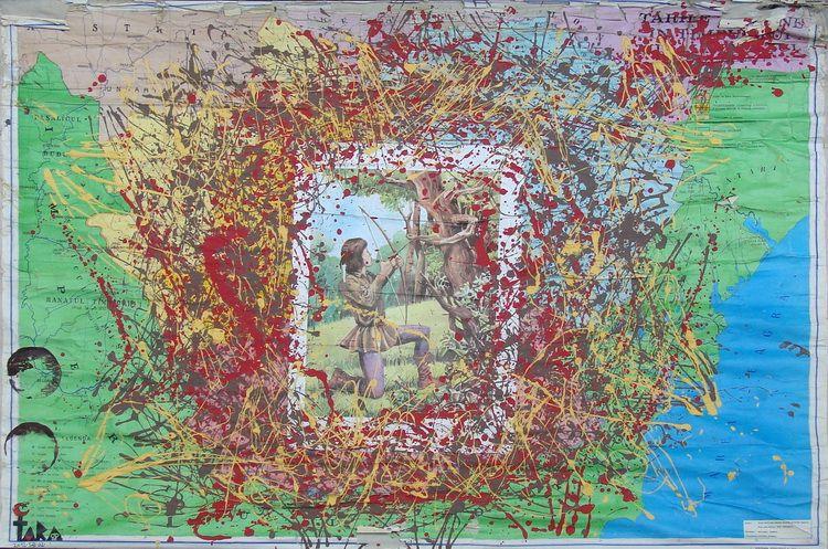 Tara (von Neudorf) - Matei Corvin Copil, 123,5x175cm, 2012