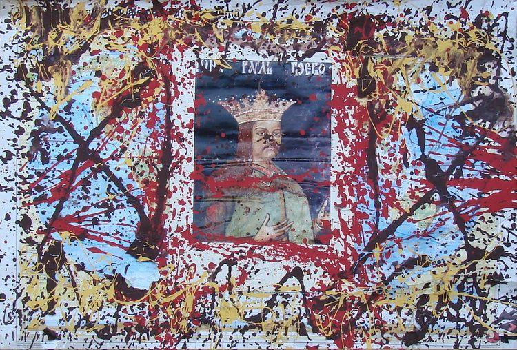 Tara (von Neudorf) - Radu cel Mare, 98x139cm, 2012