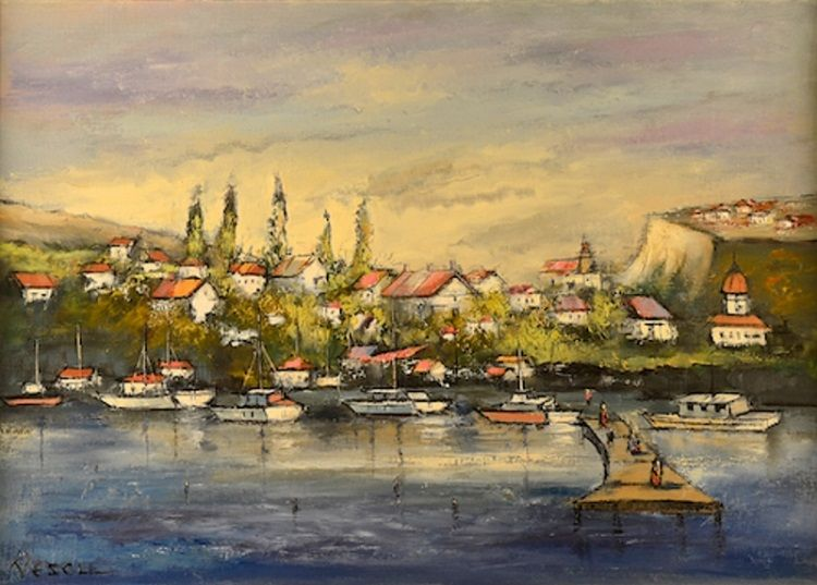 Teodor_Vescu_Port_La_Dunare