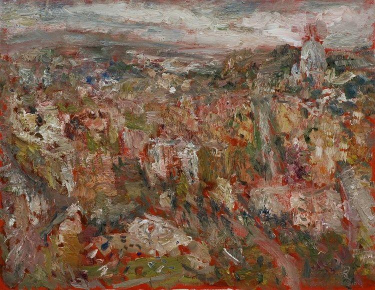 18  ROMA corpo urbano, olio su tela,90-70cm, 2010 n