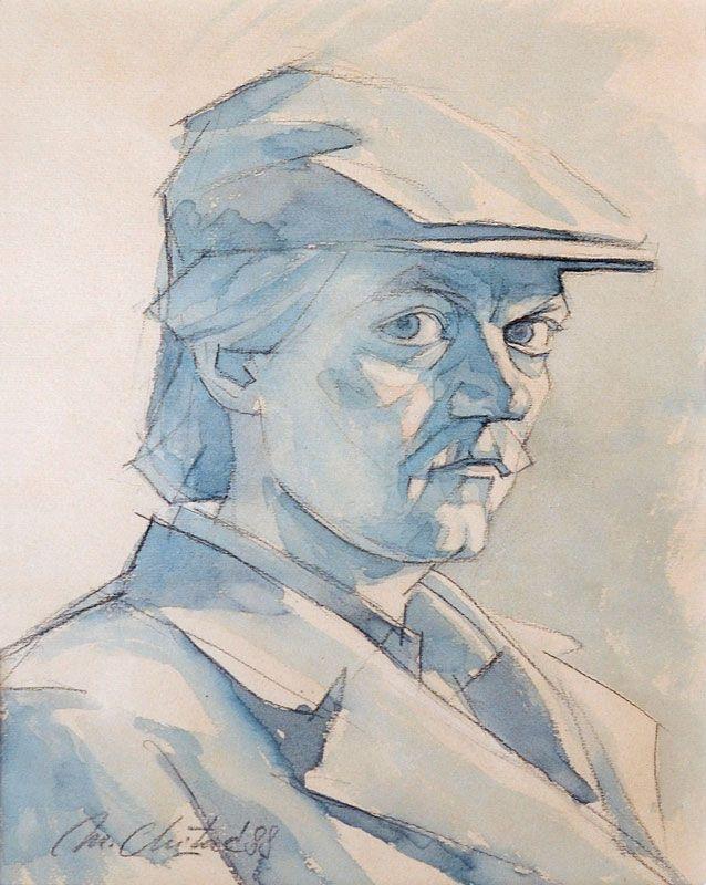 1988---Autoportret-cu-sapca