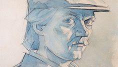 1988---Autoportret-cu-sapcab