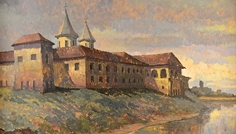 Aurel_Popp_Lodosanu_Manastirea_Comana