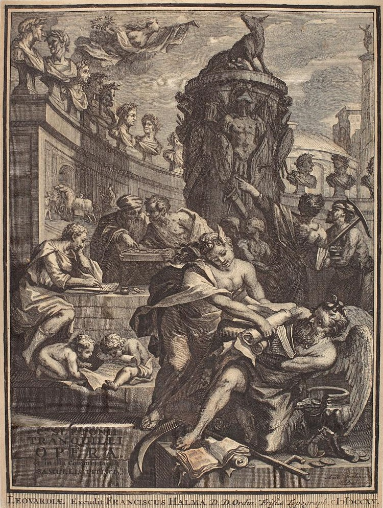 Franciscus_Halma_Alegoria_Istoriografiei