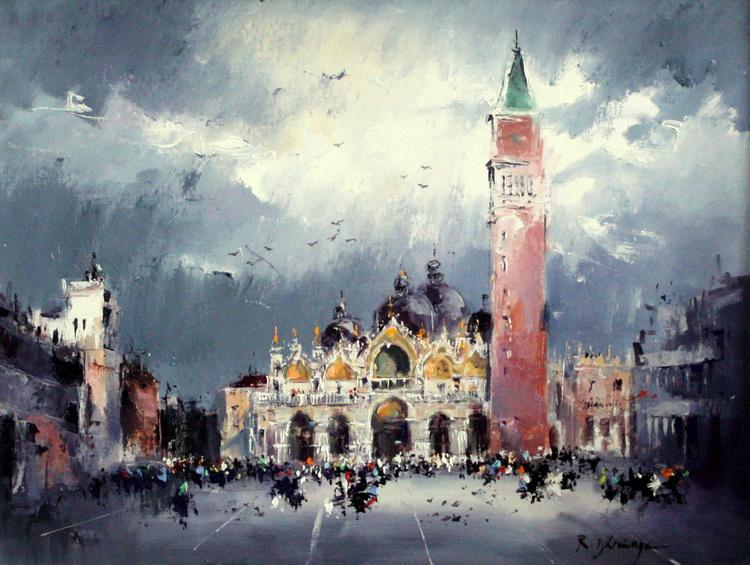 Veneția- Piața Sf.Marcu