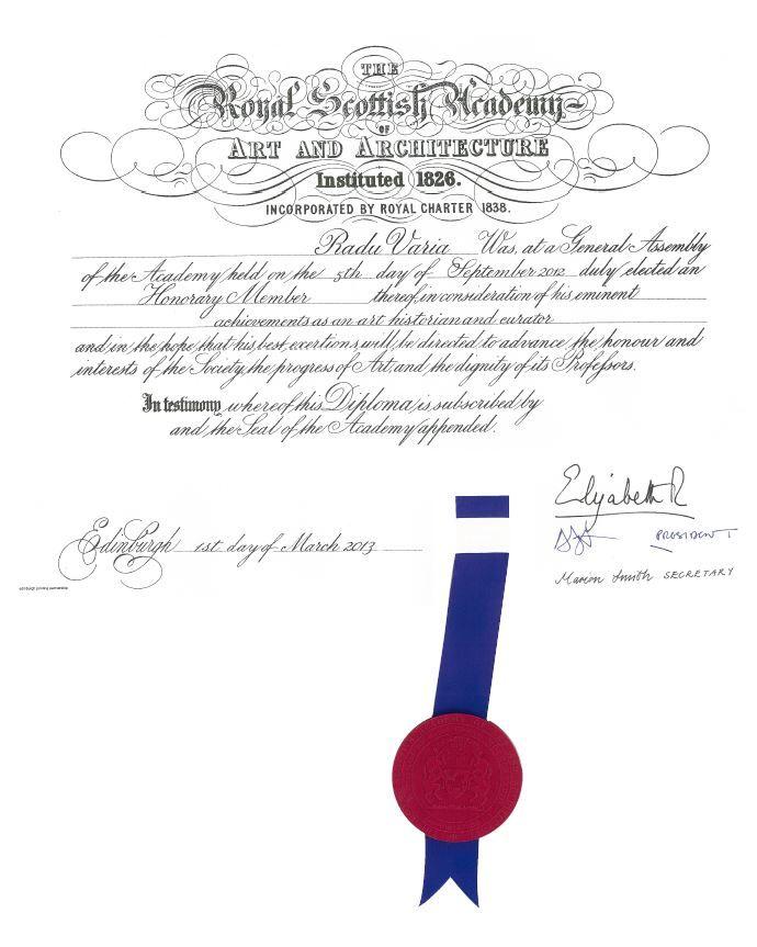 varia diploma
