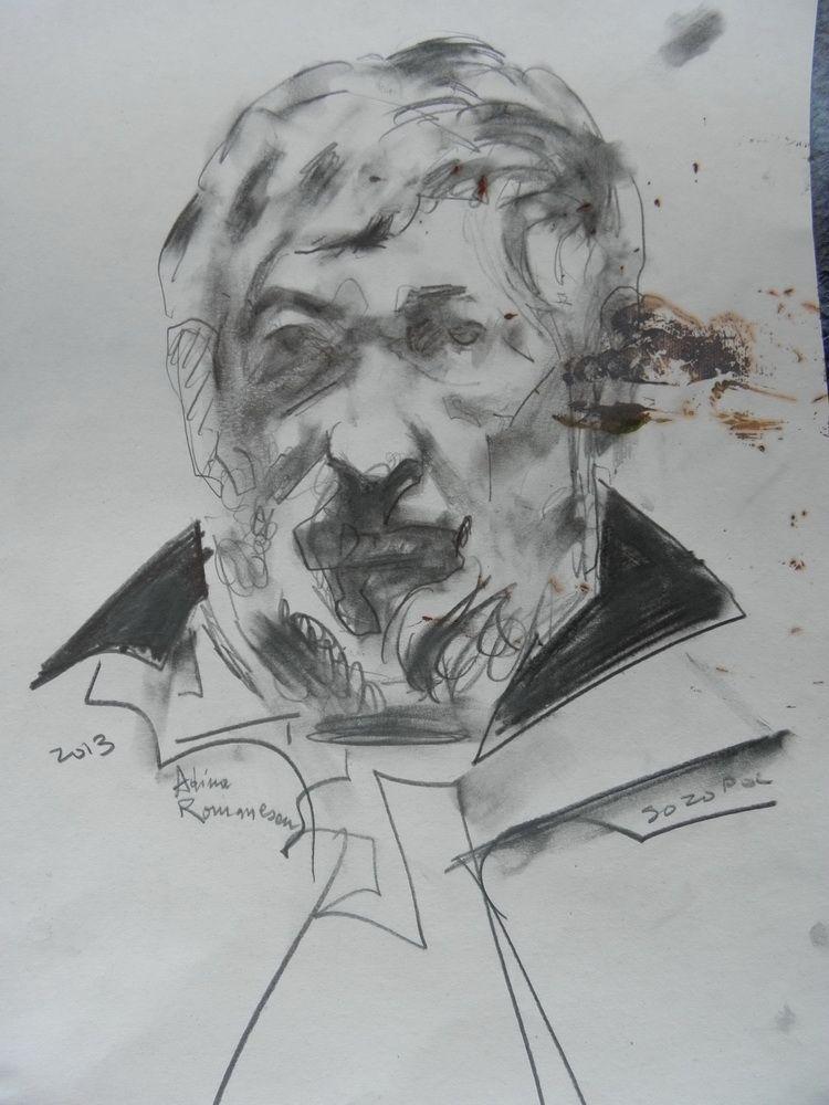 mihail gavril protret de adina romanescu