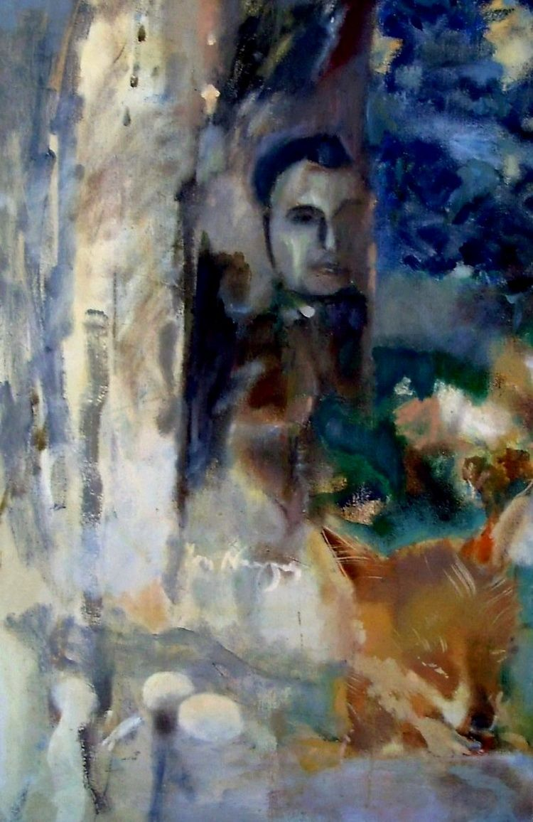 Metamorfoza, 60 x 90 cm, tempera pe panza