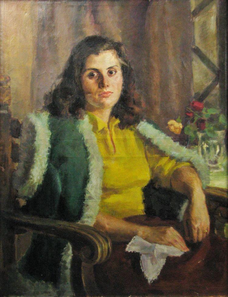 popescu iustina autoportret