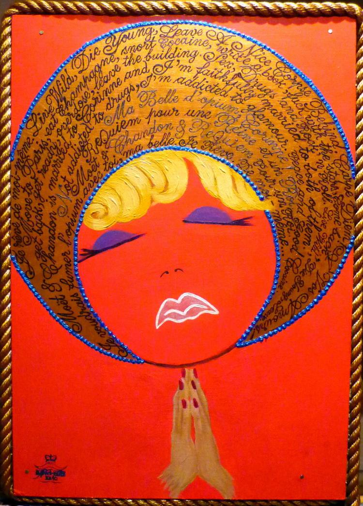 20 SFÂNTA PĂCĂTOASĂ 2010, [Autoportret-testament] Tehnica mixta