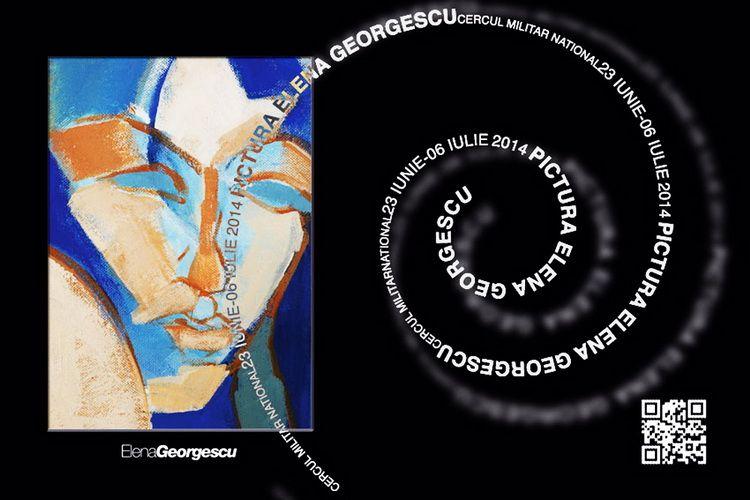 Sala Foaier 23.06 - 6.07.14 afis expozitie Elena Georgescu