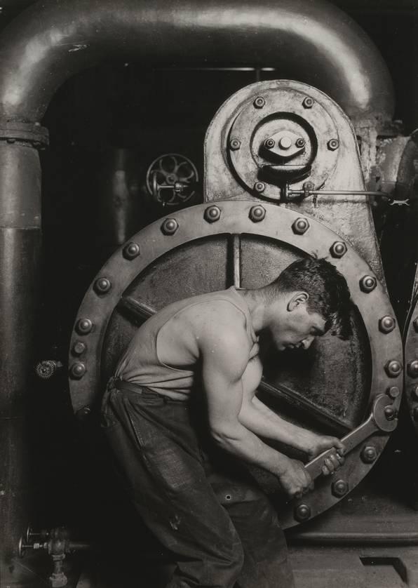 Lewis Hine - Steamfitter (1920)