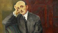 Moise Kisling - Portrait d un homme (Jonas Netter)v 1920